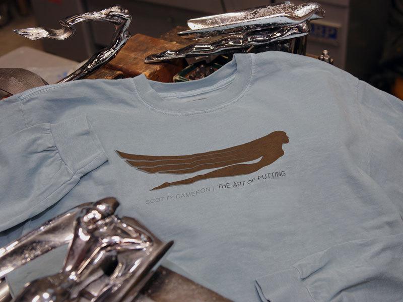 【即納】【あす楽対応】★スコッティーキャメロン アウター Tシャツ SCOTTY CAMERON 2012年モデル VICTORIOUS L/S T SHIRT BLUE M 99891