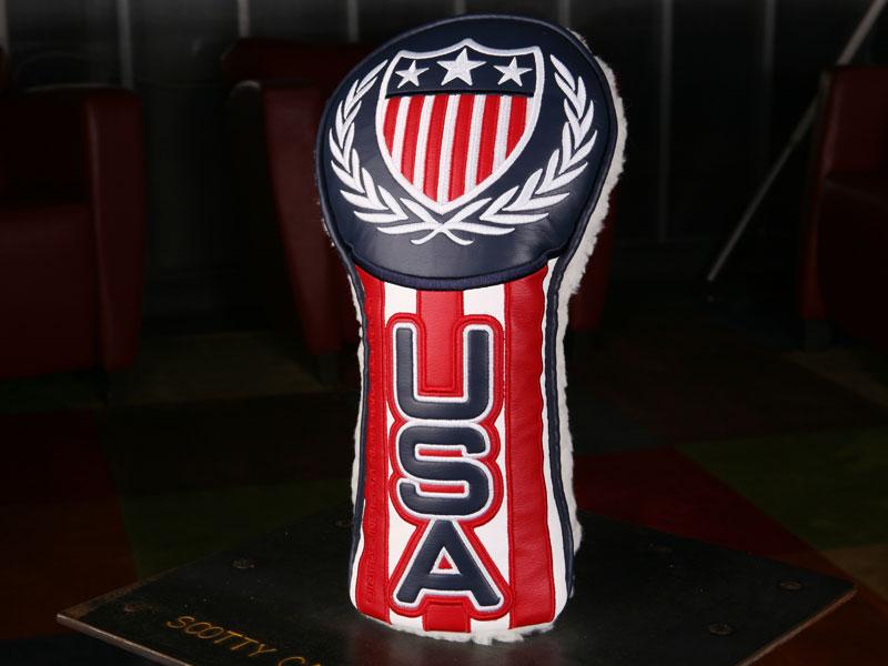 【即納】【あす楽対応】★スコッティーキャメロン ヘッドカバー ウッドカバー SCOTTY CAMERON 2012年モデル RIDER CUP USA DRIVER HEADCOVER 100053
