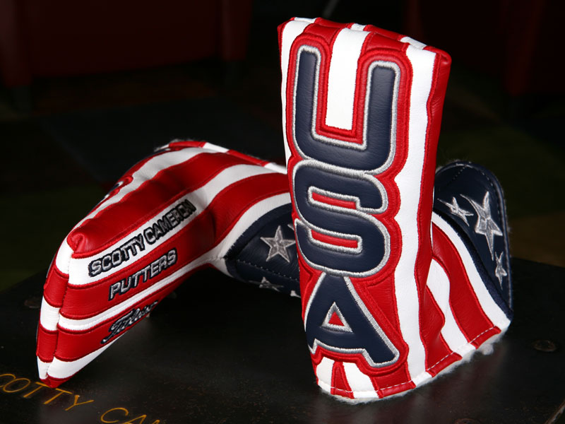 ! ★ Scotty Cameron Headcover 2012 SCOTTY CAMERON 2012 RYDER CUP USA HEADCOVER 100052