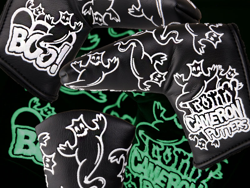 【即納】【あす楽対応】★スコッティキャメロン ハロウィンブーヘッドカバー ブラック SCOTTY CAMERON 2012 HALLOWEEN BOO HEADCOVER BLACK 100101