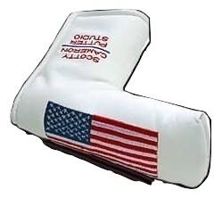 【即納】【あす楽対応】★スコッティキャメロン ラージフラッグヘッドカバー ホワイト 2002年モデル SCOTTY CAMERON 2002年モデル AMERICAN LARGE FLAG HEADCOVER WHITE