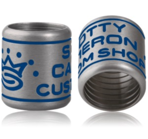 【即納】【あす楽対応】スコッティキャメロン シャフトリング シルバー/ブルー SCOTTY CAMERON 2012 CUSTOM SHOP SHAFT RING SILVER/BLUE 101022
