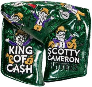 【即納】【あす楽対応】キャメロン キングオブキャッシュ ミッドマレット グリーンSCOTTY CAMERON 2018 CUSTOM SHOP KING OF CASH MID MALLET HEADCOVER GREEN