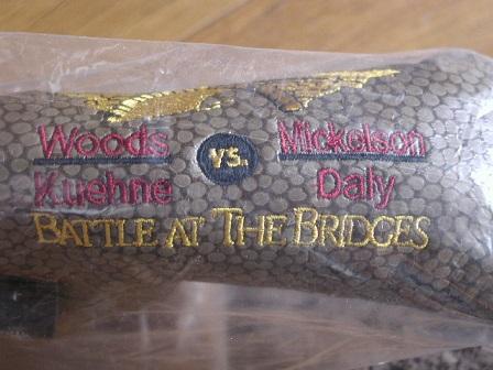 【即納】【あす楽対応】スコッティキャメロン バトルブリッジ ヘッドカバーSCOTTY CAMERON BATTLE AT THE BRIDGE HEADCOVER BROWN