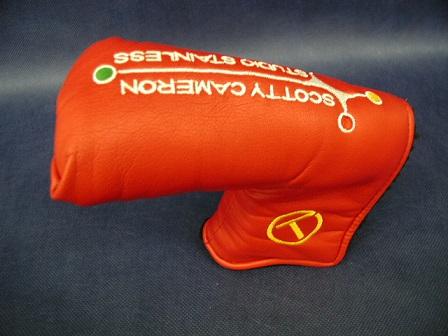 【即納】【あす楽対応】スコッティキャメロン サークルTヘッドカバー レッド SCOTTY CAMERON CIRCLE T HEADCOVER RED