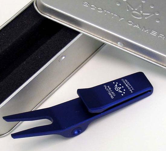 【即納】【あす楽対応】スコッティキャメロン ピボットツール 2007 7ポイントクラウン ブルー SCOTTY CAMERON 2007 7 POINT CROWN CLIP PIVOT TOOL BLUE 33201