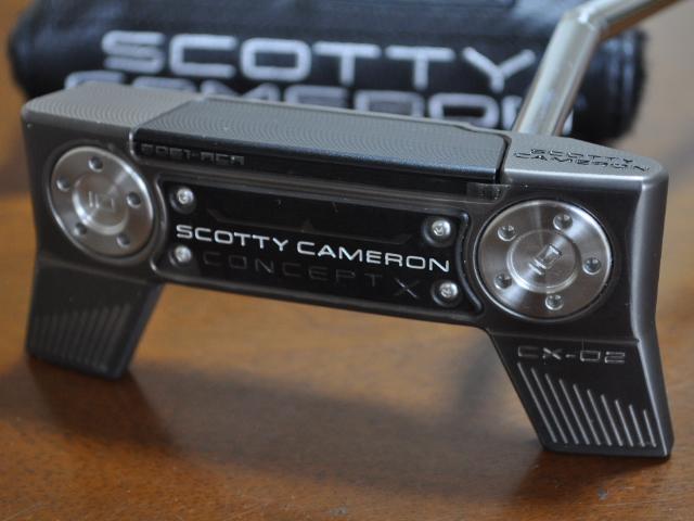 【即納】【あす楽対応】スコッティキャメロン コンセプトX-02 35 SCOTTY CAMERON 2018 CONCEPT X-02 PUTTER 35