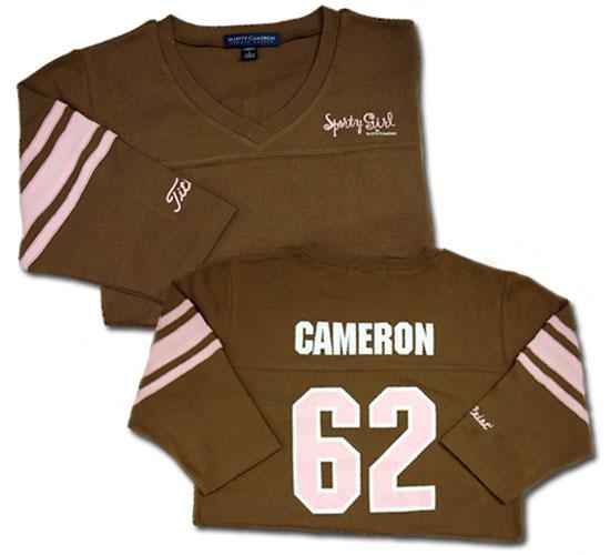 【即納】【あす楽対応】スコッティキャメロン スポーティガールTシャツ ブラウン L SCOTTY CAMERON 2006 SPORTY GIRL JERSEY 褐色 25630