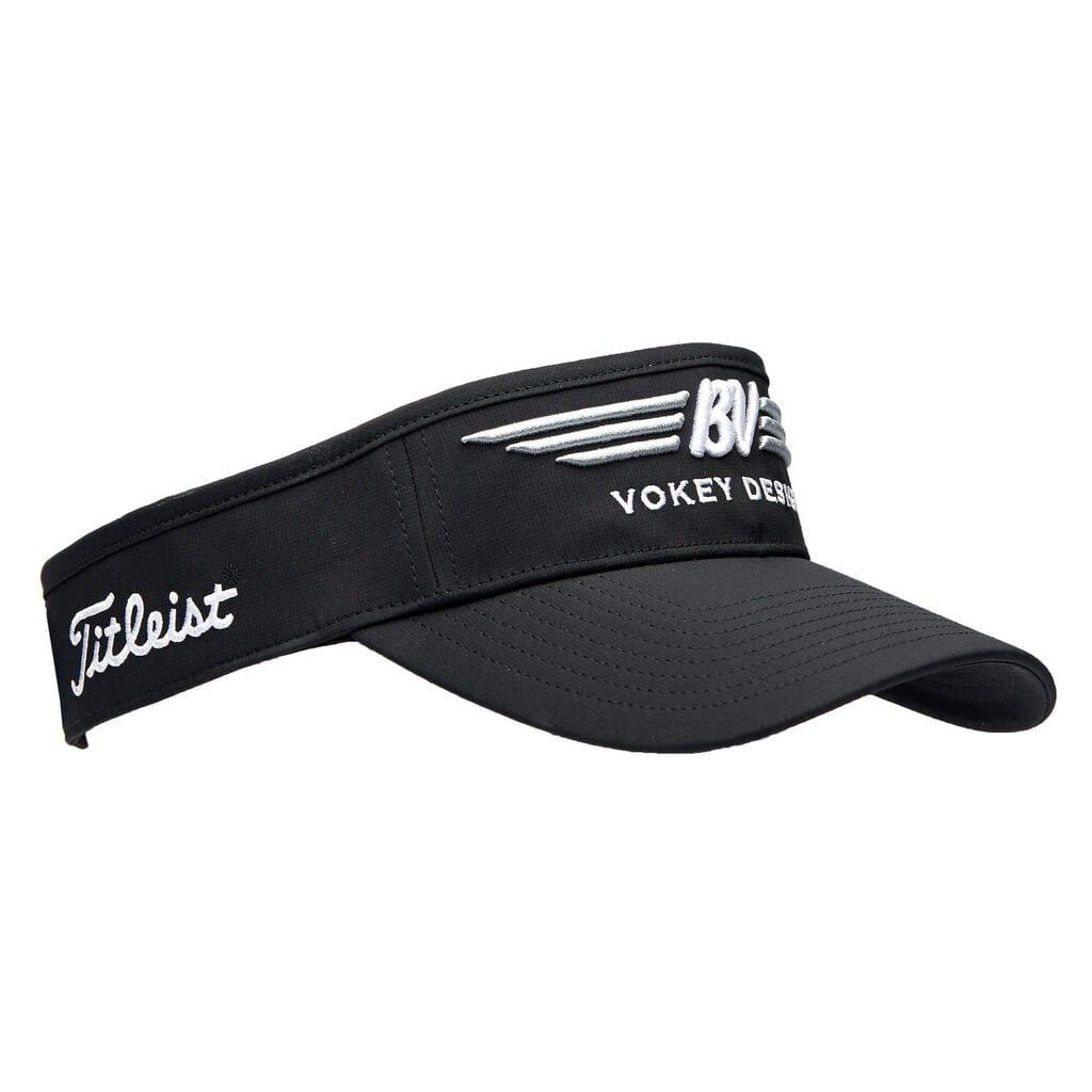 【即納】【あす楽対応】ボーケイ ツアーパフォーマンスバイザー ブラック VOKEY BV WINGS TOUR PERFORMANCE VISOR BLACK 39822