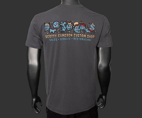 【即納】【あす楽対応】スコッティキャメロン モトリークルー Tシャツ グレー S SCOTTY CAMERON 2019 MOTREY CREW T-SHIRT HEAVY NETAL S 101985