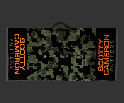 【即納】【あす楽対応】スコッティキャメロン デジカモゴルフタオル グリーン SCOTTY CAMERON 2019 CAMOUFLAGE GOLF TOWEL GREEN 101404