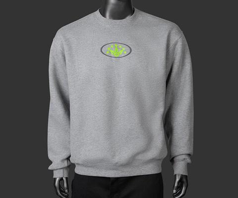 送料無料 ゴルフ GOLF ゴルフ用品 入手困難 レアもの 海外モデル 限定モデル  【即納】【あす楽対応】スコッティキャメロン オーバルクラウン スウェット グレー L SCOTTY CAMERON OVAL CRON CREW NECK SWEATSHIRT HEATHER GRAY L 102181