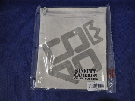 【即納】【あす楽対応】スコッティキャメロン キャンバス バリュアブル ポーチ SCOTTY CAMERON 2011 CLUB CAMERON VALUABLE CANVAS POUCH CC70553