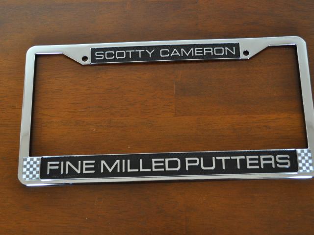 【即納】【あす楽対応】スコッティキャメロン ライセンスフレーム SCOTTY CAMERON 2017 FINE MILLED PUTTERS LICENSE PLATE FRAME 101565