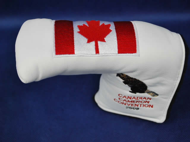 【即納】★スコッティーキャメロン ヘッドカバー スペシャルイベント SCOTTY CAMERON 2008年モデル CANADIAN CAMERON CONBENTION HEADCOVER WHITE 1/50