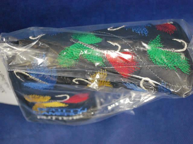 【即納】【あす楽対応】★スコッティキャメロン 全米プロ スーパーフライ ヘッドカバー ブラック 2009年モデル SCOTTY CAMERON 2009 PGA CHAMPIONSHIP CLASSIC SUPPER FLY HEADCOVER BLACK 96121