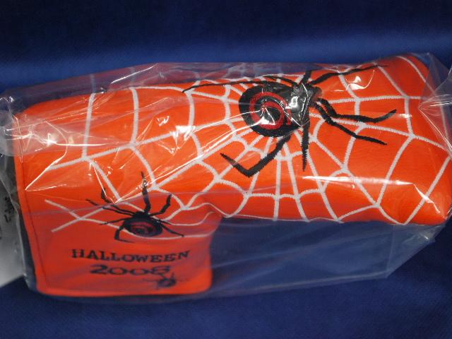 【即納】【あす楽対応】★スコッティキャメロン ハロウィン スパイダー ヘッドカバー オレンジ 2008年モデル SCOTTY CAMERON 2008年モデル HALLOWEEN POISON SPIDER ORANGE 1/500 69032