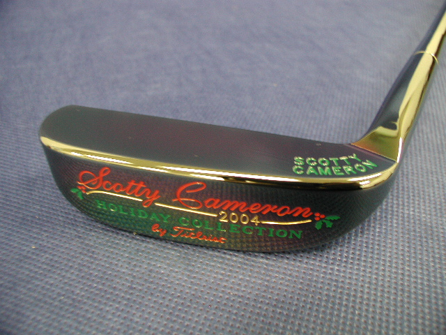 ! ★ SCOTTY CAMERON 2004 HOLIDAY NAPA PUTTER, Scotty Cameron putter holiday