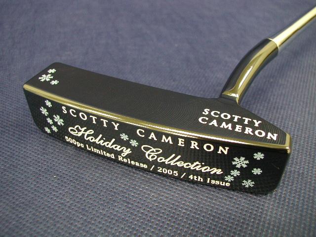 【即納】【あす楽対応】★スコッティーキャメロン パター ホリデー SCOTTY CAMERON 2005年モデル HOLIDAY CIRCA62 #1 PUTTER