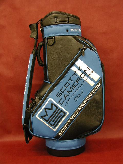 【即納】【あす楽対応】★スコッティーキャメロン アクセサリー スタッフバッグ SCOTTY CAMERON 2006 STAFF BAG BLUE
