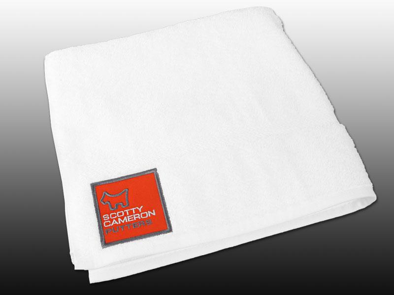 【即納】【あす楽対応】★スコッティーキャメロン タオル CAMERON 2013年モデル SCOTTY DOG TOUR TOWEL WHITE 100235