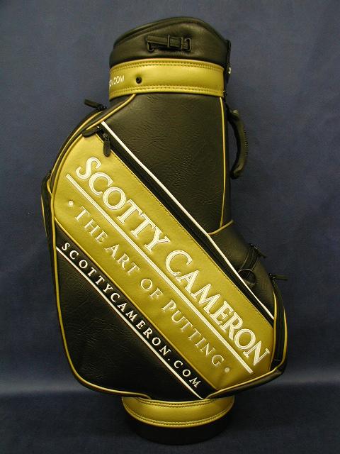 【即納】【あす楽対応】★スコッティーキャメロン アクセサリー スタッフバッグ SCOTTY CAMERON 2006 STAFF BAG GOLD