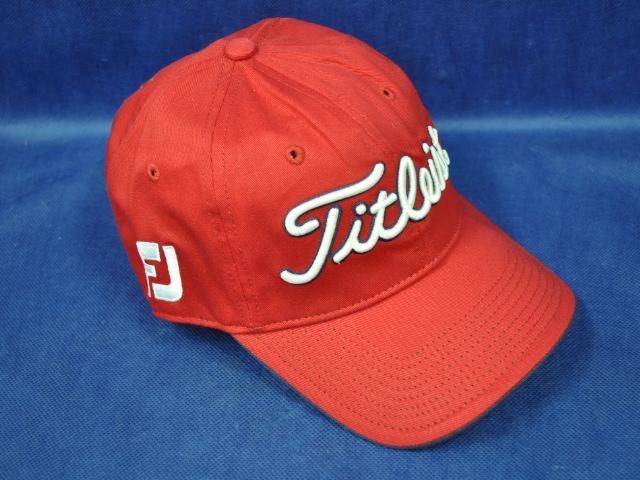 【即納】【あす楽対応】★タイトリスト キャップ TITLEIST FJ TOUR CAP RED/WHITE