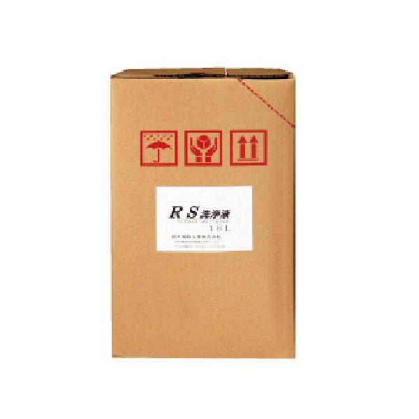 業務用部品洗剤 / プリント基板洗剤 RS洗浄液 18L (準水性・中性) 鈴木油脂 S-2019 送料無料