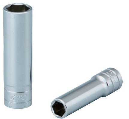 KTC工具 3 8 9.5sq 6角 激安超特価 ミリ 22 B3L- ディープソケット 引出物 22mm
