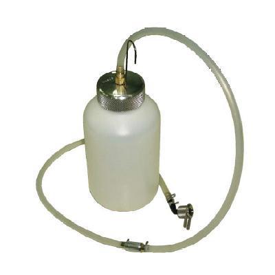 ワンタッチジョイント付きエアーブリーダー ワンマンブリーダー(廃油タンク・チェックバルブ付) HASCO ハスコー OM-15A 送料無料
