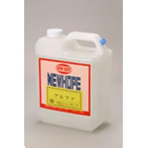 業務用保護、艶出し剤 ノンワックスアルファ 4L 【ニューホープ】 NW-500 送料無料
