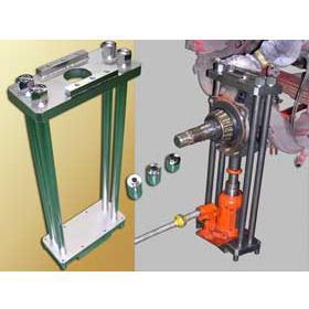 【ハスコー】 引き抜きサポート工具 キングピン押し抜き台 / KP-410 送料無料