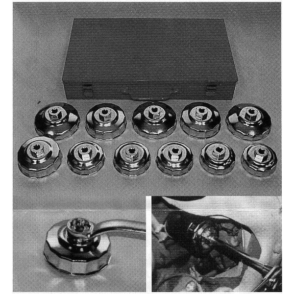 【KOTO】 オイルフィルターの交換具 オイルフィルターレンチ (カートリッジ式 3ナンバー5ナンバー(95年度)セット) / NT-800 送料無料