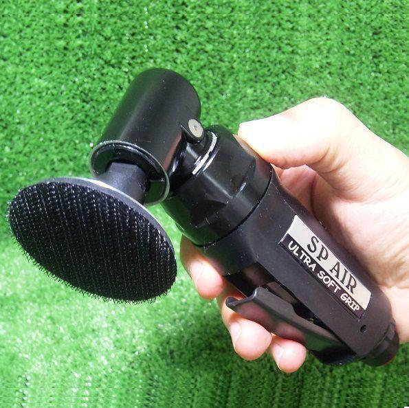 シングルアクションタイプの定番品 【SP-AIR エスピーエアー】 ミニサンダー(50φmm) / SP7201G (SP-7201G) 送料無料