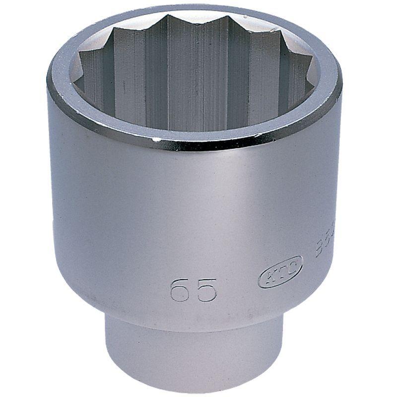 【KTC工具】 25.4sq ソケット (12角: 60mm / 63mm ) / B50-60 / B50-63 送料無料