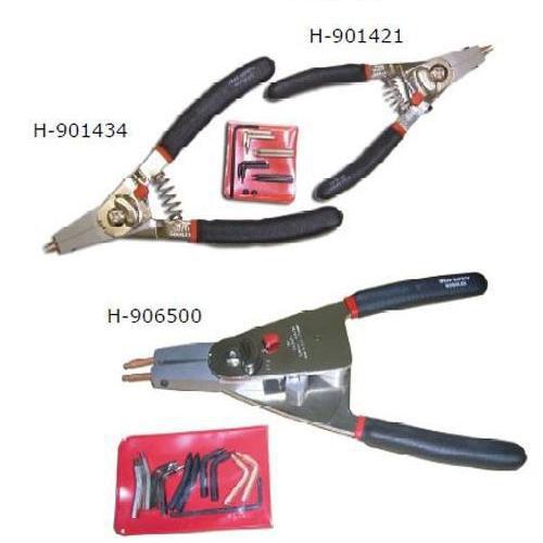 【ハスコー】 軸穴切換式 スナップリングプライヤー(小) / H-901421 送料無料