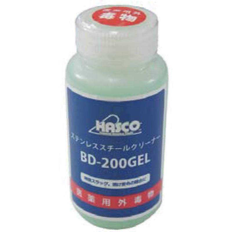 ハスコー ステンレススチールクリーナー/BD-200GEL 送料無料