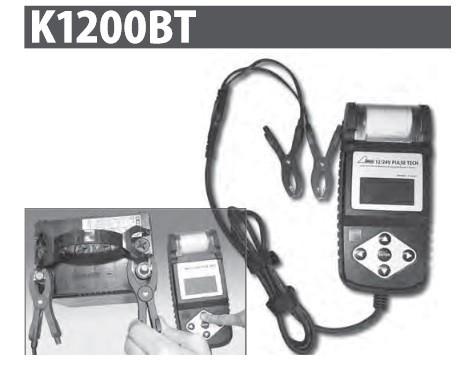 ハスコー バッテリーテスター DC12V/24V対応 K1200BT 送料無料