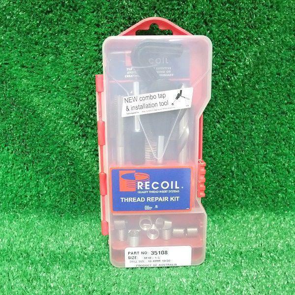 RECOIL潰れたネジ山を再生させる補修工具セット・タップハンドル付 リコイルキット (トレードシリーズ)BSP 3/8-19 /31068 送料無料
