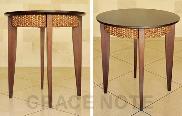 GRACE NOTE  カフェテーブル WCT-01 ウォーターヒヤシス バリ 家具 グレイスノート