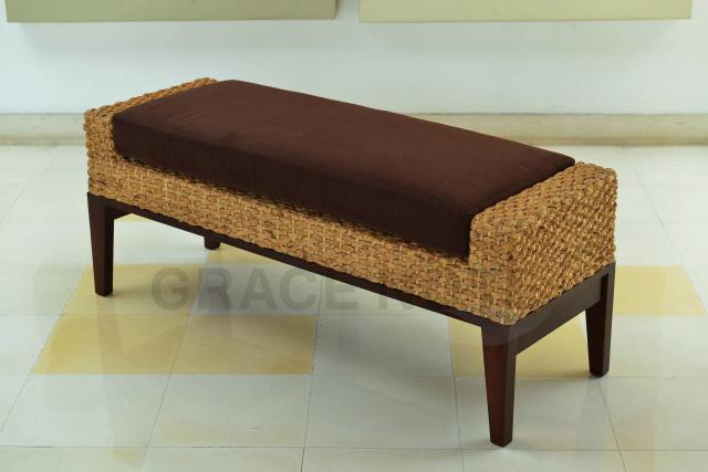 GRACE NOTE  ベンチ WC-13 ウォーターヒヤシンス バリ 家具 グレイスノート 椅子