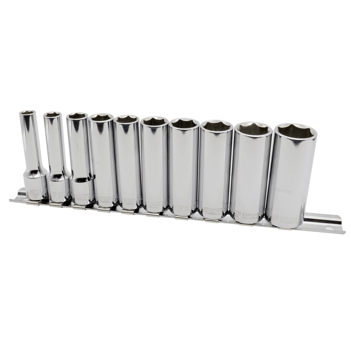 ディープソケットセット PWT 3/8インチ (9.5mm)ディープソケットセット 7/8/10/11/12/13/14/15/17/19mm IDS38SET