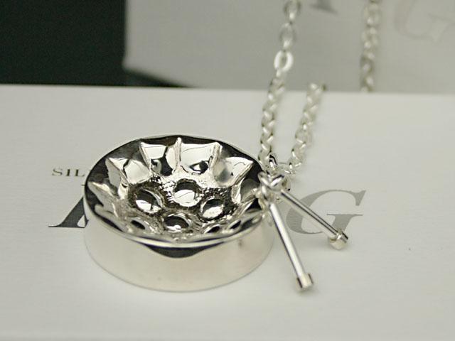 PX-G Silver Steelpan Tenorpan Pendant银子附件钢面包男高音面包垂饰