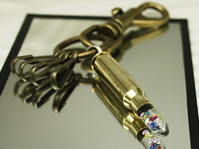 スプリングフィールド薬莢とガラスのコラボ 氷の弾丸 日本最大級の品揃え PX-G ガラスの弾丸 薬莢キークリップ お得なキャンペーンを実施中
