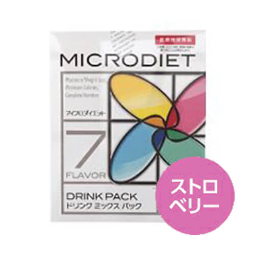Micro diet MICRODIET drink (strawberry flavor) 7 food