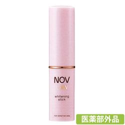 把手NOV L&W美白杆4.3g(非正规医药品)[把手化妆品][保湿、eijingu、低刺激]
