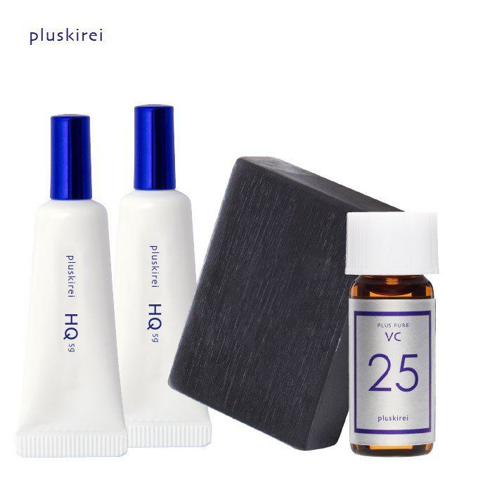 ハイドロキノン クリーム プラスナノHQ2本石鹸&お試し美容液セットプラスナノHQ 5g×2プラスソープHQ 100gプラスピュアVC25ミニ 2mL|整肌成分ハイドロキノン|美容ケアクリーム|コンシーラー||石鹸|美容液|TIME