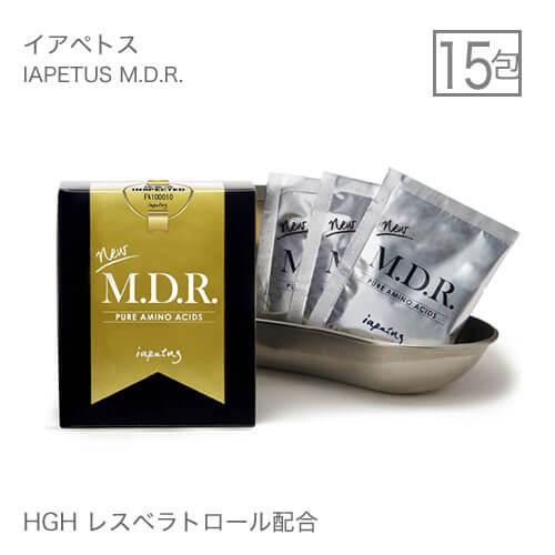 イアペトス M.D.R.IAPETUS MDR 15g×15包 [ MDR アミノ酸加工食品 ]【コンビニ受取可】HGH