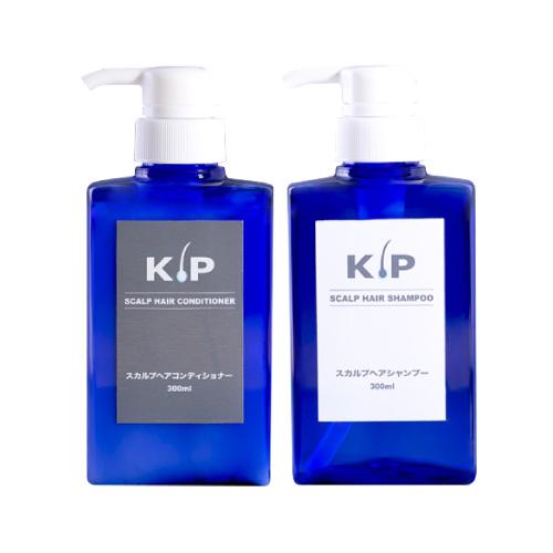 【送料無料】 KIP スカルプヘア シャンプー & コンディショナー セット(各300mL/男女用)[スカルプ / ヘアケア / スカルプケア / シャンプー / KIP / リンス]【コンビニ受取可】