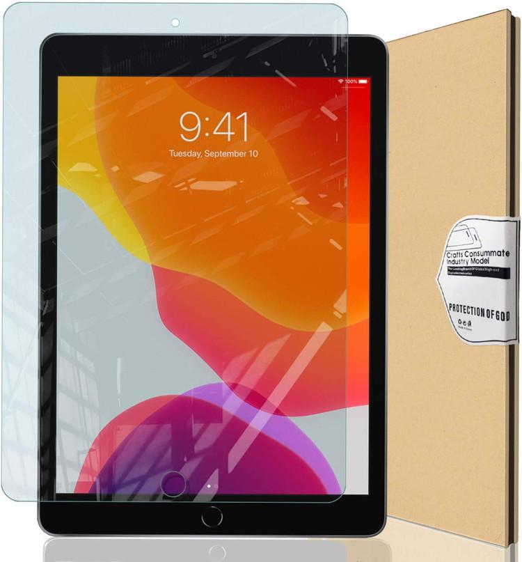 iPad 10.2 フィルム ガラスフィルム 強化ガラス 価格 保護フィルム ブルーライトカット ゆうパケ 第7世代 2019 指紋防止 硬度9H 第8世代 値引き 2020